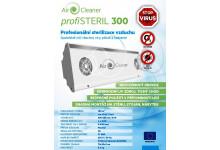 Air Cleaner profiSteril 300, UV sterilizátor vzduchu